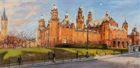 early spring, kelvingrove by james somerville lindsay