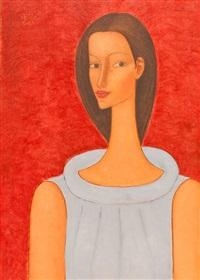 portrait of the artist's muse by roman zakrzewski