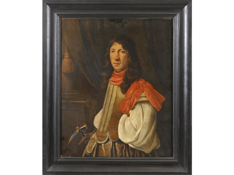 portrait of a gentleman by samuel van hoogstraten