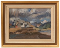plockton, wester ross by denis frederic neal peploe