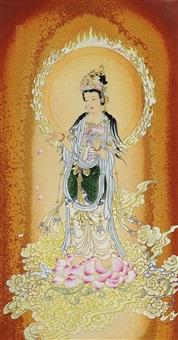 buddha by jiang zhensheng