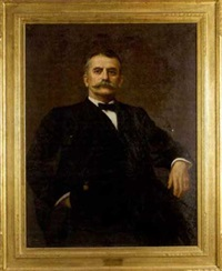portrait of franklin clement robinson by joseph b. kahill