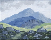 mountain landscape by mabel young