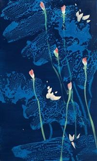 荷花 (lotus) by xu kuangda