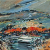 the last of autumn, loch lomond by shelagh campbell