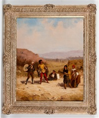the musicians by frederick goodall