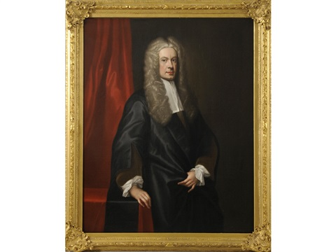 portrait of sir john clerk of penicuik 2nd bt 1676 1755 by william aikman
