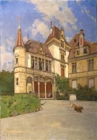 le château de gorgier by gustave jeanneret