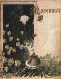 rosenmär (design for title page) by emil reinicke