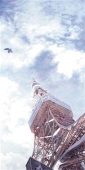 tokyo tower by maya ishii