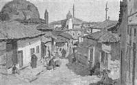 blick auf prülep in mazedonien by arno haag