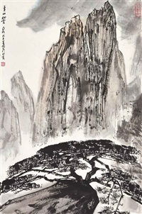 mount huang by ya ming