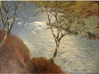 spring on the garry by norman wilkinson