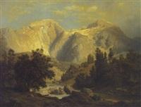parti fra berchtesgaden by leonhard rausch