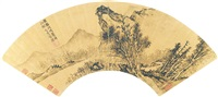 幽居图 (landscape) by ren han