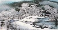 玉潮 (landscape) by bai hai