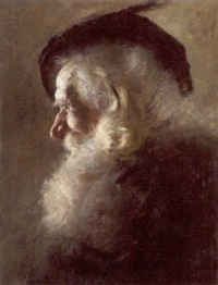 copf eines alten mannes by hans gottesleben