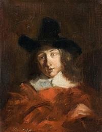 porträt eines holländischen herrn by max gaisser