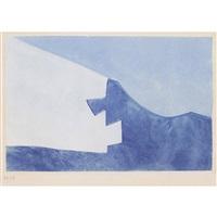 komposition in blau by serge poliakoff