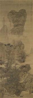 autumn landscape by liu du
