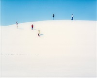 white sands i (in 2 parts) by walter niedermayr