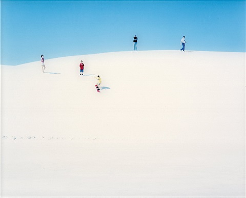 white sands i in 2 parts by walter niedermayr