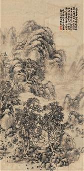 landscape by xue ruinian