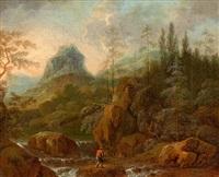 landschaft mit fischer by jan wils