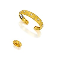a bangle and matching ring (set of 2) by frederico buccellati