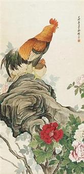双禽图 by liu kuiling