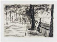rheinpromenade in köln by johannes thiel