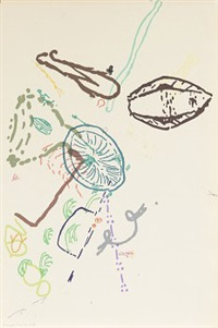 30 drawings for thoreau (from merce ginningham) by john cage