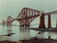 the forth bridge from south queensferry by james mcdonald