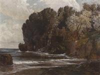 italiensche steilküstenlandschaft im vorfrühling by max roeder
