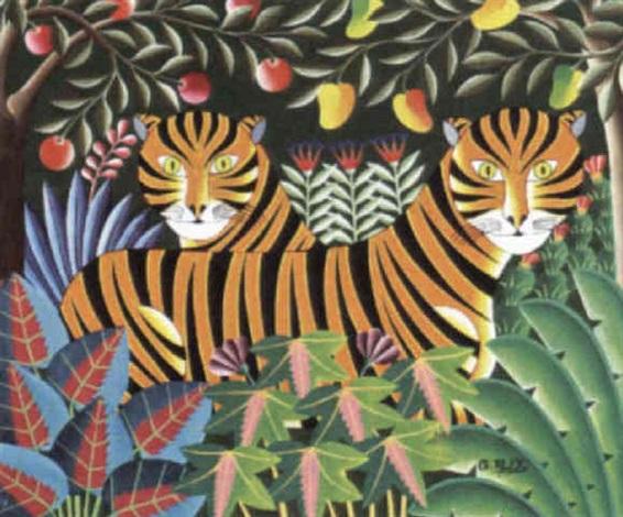 tigers by gabriel alex