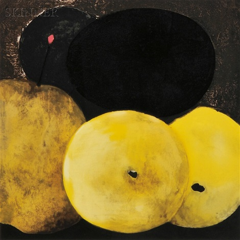 five lemons a pear and an egg by donald sultan