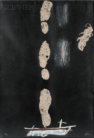 empreintes de pas by antoni tàpies
