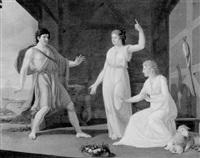 die heimkehr des odysseus by ernst friedrich ferdinand robert