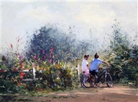 boys on a lane by robert hagan