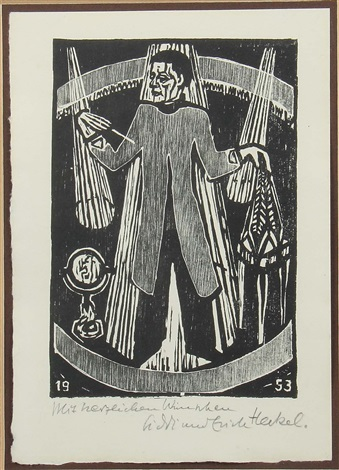 zauberer by erich heckel