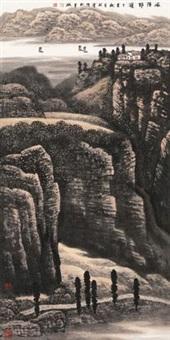 风陵野游 (landscape) by liu shumin