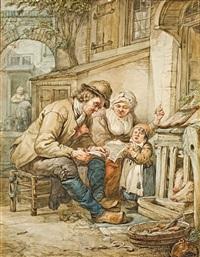 ein lied wird beübt by abraham van stry the elder