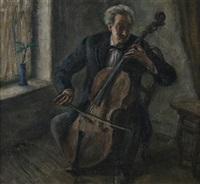 the cellist by samuel brecher