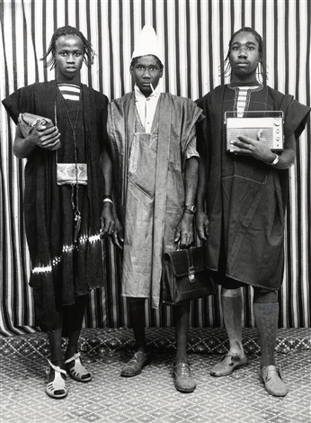 les trois bergers peuls by malick sidibé