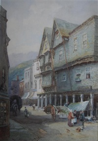 the butter walk, dartmouth by alfred leyman