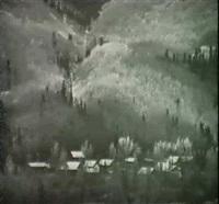 rico, colorado & farm, georgia hancock brook vermont by john ward