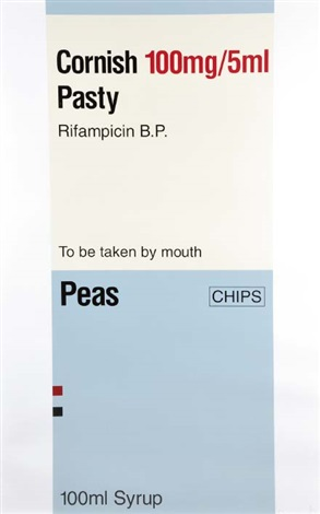 the last supper. cornish pasty by damien hirst