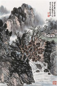 泉声 (voice of water) by xu xuecheng