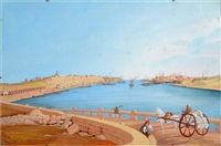 views of malta (2 works) by paulo andrea de angelis