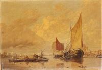 segelschiffe auf der reede by anonymous-european (19)